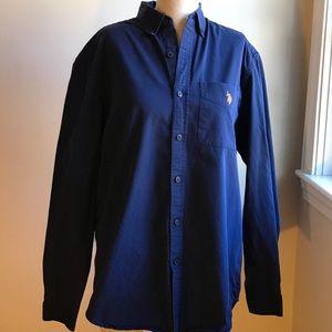 U.S.Polo Assn men's button up shirt